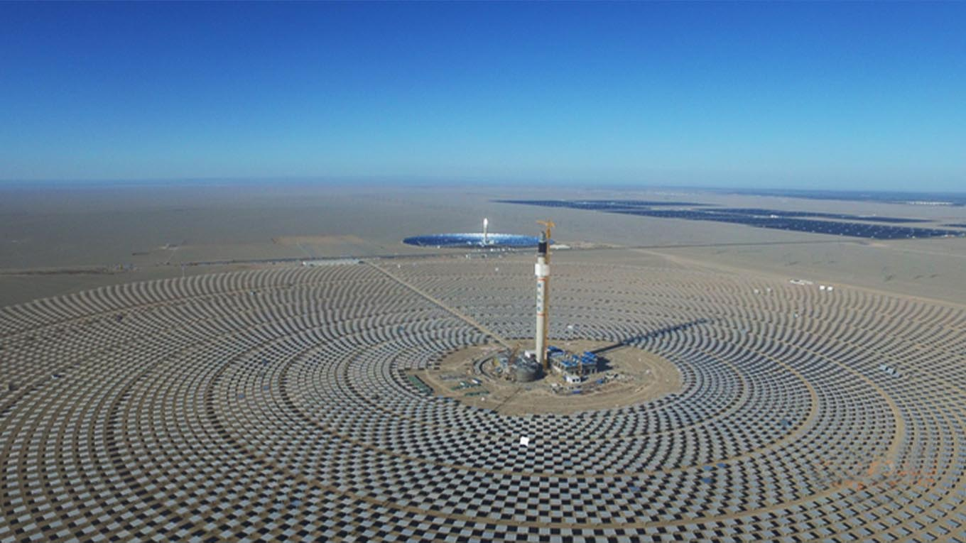Solar PV and CSP projects